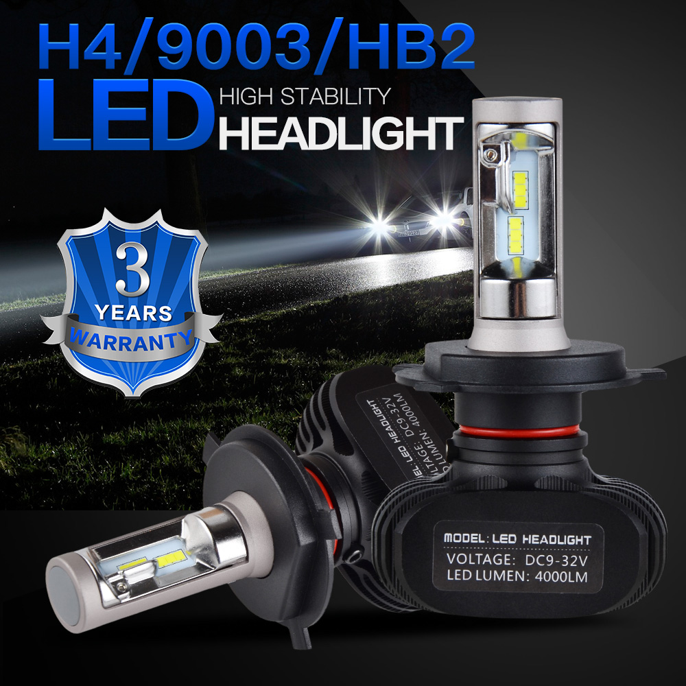 Bevinsee CSP LED Headlight Bulbs Head Light Lamp For Bombardier Outlander 650 4x4 / XT 2006 2007 2008 ATV High & Low Beam