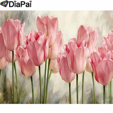DIAPAI Diamond Painting 5D DIY 100% Full Square/Round Drill Flower landscape Diamond Embroidery Cross Stitch 3D Decor A24748 diapai diamond painting 5d diy 100% full square round drill flower landscape diamond embroidery cross stitch 3d decor a24368