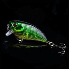1Pcs Crankbait Minnow Trolling Lure Fishing Tackle Wobbler Swimbait Fishing 5.5cm 6.6g Fishing Lure Artificial Hard Bait FA-277