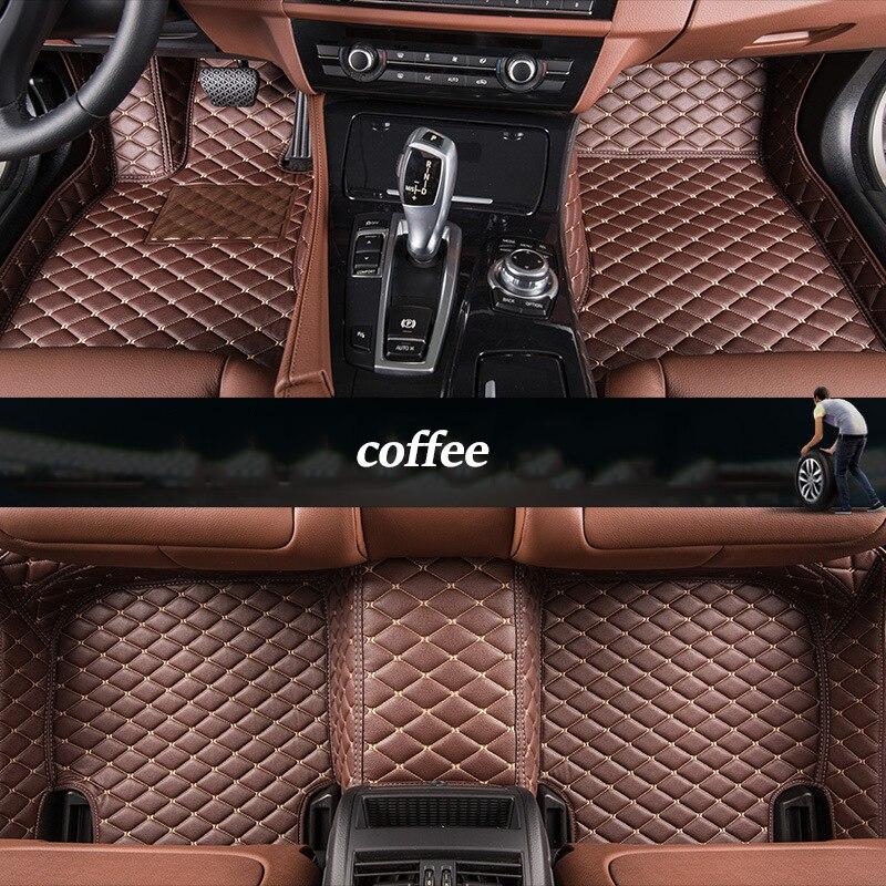 Kalaisike Personalizado esteiras do assoalho do carro para Todos Os Modelos Volvo xc90 xc60 s60 s80 c30 v90 s90 v40 v60 s40 XC-Classi xc70 carro styling