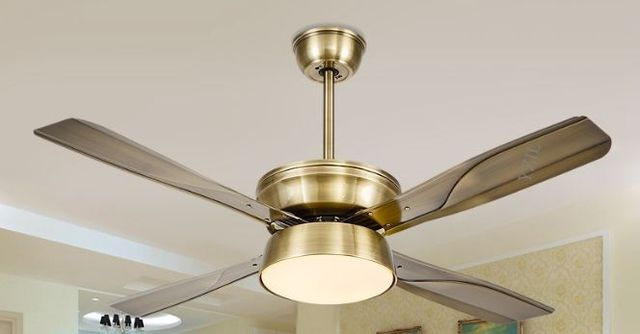 Simple fashion led dc inverter ceiling fan light remote control fan simple fashion led dc inverter ceiling fan light remote control fan lamp ceiling 52inch restaurant silent mozeypictures Choice Image