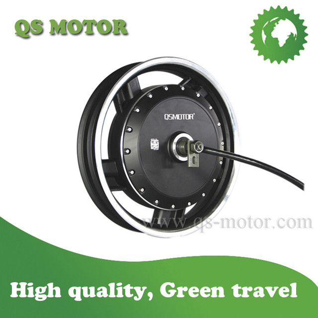QSMOTOR 8000W 17inch In-Wheel Hub Motor(50H) V3 Type for Electric motorcycle