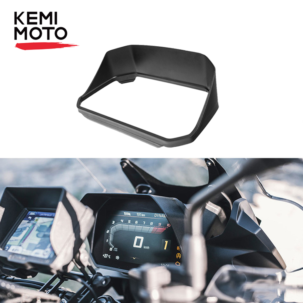 KEMiMOTO Speedometer Sun Visor for BMW R1200GS R 1200 GS Adv F850GS F750GS F850GS 2018 2019 R1250GS R1250R GS LC Adventure-in Covers & Ornamental Mouldings from Automobiles & Motorcycles