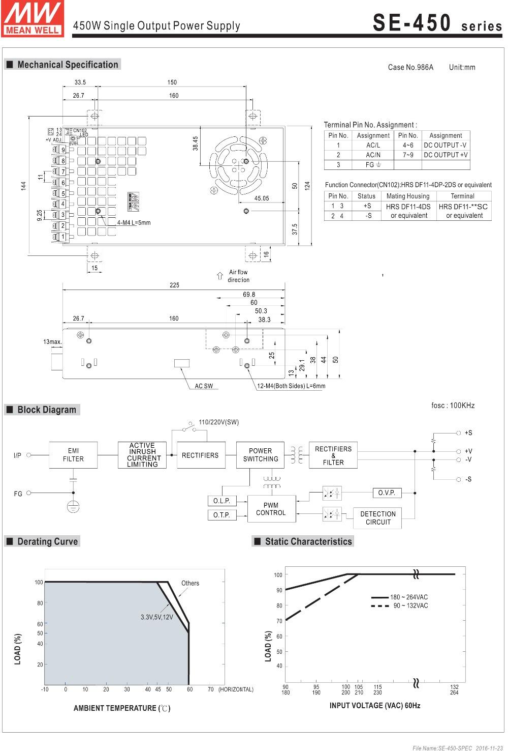 HTB19EnoSFXXXXcdXFXXq6xXFXXXU - Original Meanwell 24V 18.8A 450W SE-450-24 Switching Power Supply AC to DC 24V transformer UL 450W 24V dc industry power supply