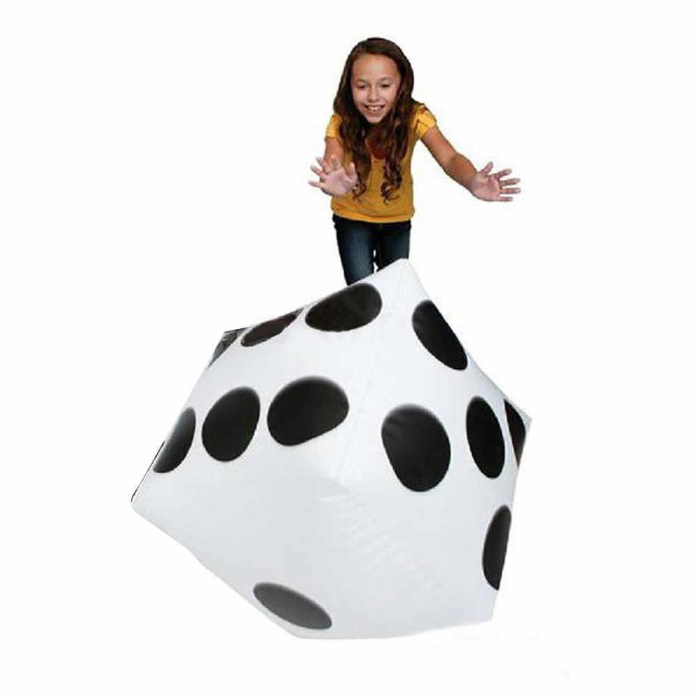 2019 ホット販売サイコロ知育玩具 28 センチメートル子供のおもちゃインフレータブルサイコロジャンボ大インフレータブルサイコロドット斜め巨大玩具パーティーの空気