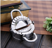 304 Stainless dumpling maker big size Ravioli dough DIY machine 2-in-1 press 10CM Pastry tool