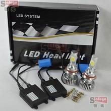 1set cree DC 12V 24V 9004 9007 car led headlight 9004 led headlight bulb 9007 HI LO BEAM 50W