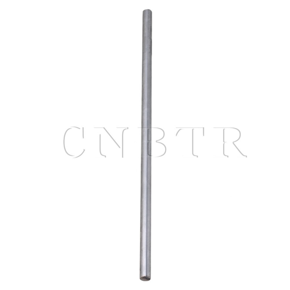 CNBTR Silver Cylinder Liner Rail Linear Shaft Optical Axis OD 10mm x 300mm Antirust 4pcs od 16mm x 800mm cylinder liner rail linear shaft optical axis