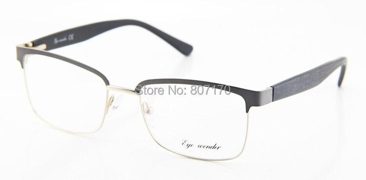 5330cccdf8 Eye wonder New Vintage Metal Glasses Men Designer Half Frame Square Retro Glasses  Women Classic Optical Eyewear Oculos de grau-in Eyewear Frames from ...