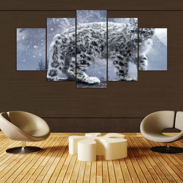 Canvas Painting Wall Art Abstract Decorative Frames Pictures For