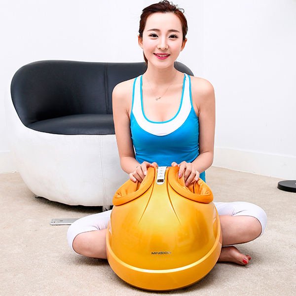 Health Care Infrared Heating Therapy Foot Massage Machines Foot Sole Blood Circulation Stimulation Electric Foot Massager electric antistress foot massager vibrator foot health care heating therapy shiatsu kneading air pressure foot massage machine