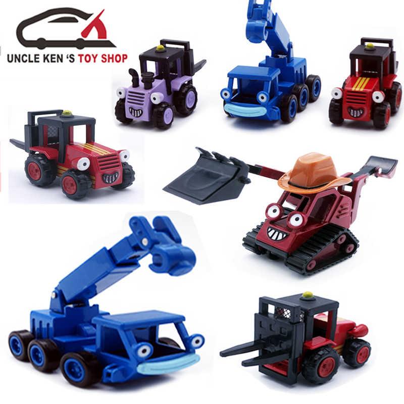밥 빌더, 어린이 장난감에서 다이 캐스트 모델 베니 컬렉션 선물로 어린이/소년을위한 금속 자동차를 따라 가져 가라.