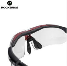 RockBros Polarized Cycling Sun Glasses Outdoor Sports Bicycle Glasses Bike Sunglasses 29g Goggles Eyewear 5 Lens