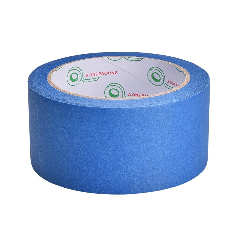 3D Printer Blue Tape 50mm Wide 50m 50*33 Reprap Bed Tape, Painters Masking FOR 3D Printer Parts