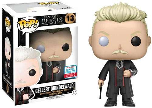 2017 NYCC Exclusive Funko pop Official Fantastic Beasts - Gellert Grindelwald Vinyl Action Figure Collectible Model Toy2017 NYCC Exclusive Funko pop Official Fantastic Beasts - Gellert Grindelwald Vinyl Action Figure Collectible Model Toy