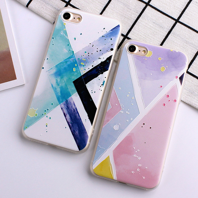 Ultra-thin Simple Scrub Silicone Phone Cases For iphone 6 6S 8 7 Plus Soft Back Cover 2