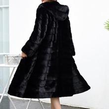高級ロングカスタマイズプラスサイズ工場実質価格本物のコート女性の毛皮のジャケット新冬 sr587