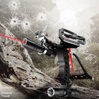hunting SlinLaser Slingshot Elastic Hunting Slingshot with Arrow Clip Shooting Catapult Sling Shot Crossbow Bolt Target Shooting