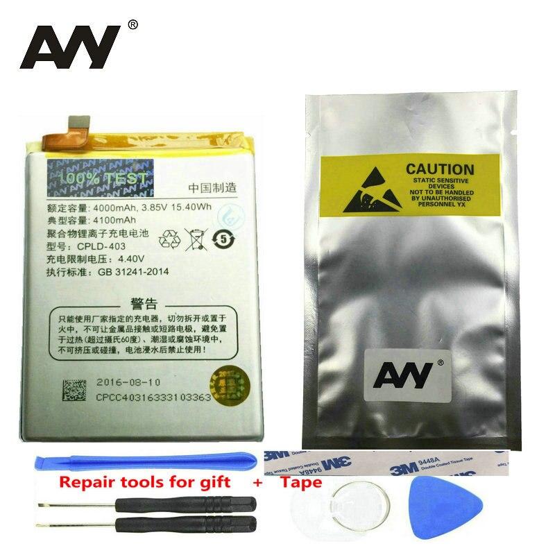 AVY Batterie Für LeEco Letv le3 Le 3 LeRee & Coolpad kühlen 1 Dual Pro C106-9/8 C107 Mobile telefon Akkus 4000 mAh