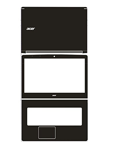 Pour Ordinateur Portable spécial En fiber de Carbone Vinyle Autocollants de Peau De Couverture de garde Pour Acer VN7 792G 792 VN7-792G 17.3