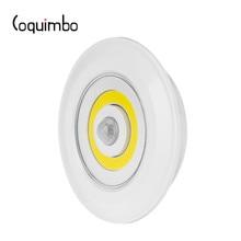 Coquimbo Motion Activated Night Light แบตเตอรี่ดำเนินการ Sensor Light สำหรับตู้เสื้อผ้าบันได PIR Motion Sensor โคมไฟกลางคืน