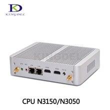 Kingdel Бизнес офисные безвентиляторный мини-ПК с 5th Gen Intel 14nm 4 ядра N3150 процессор, настольный компьютер, wifi, Окна 10 Pro