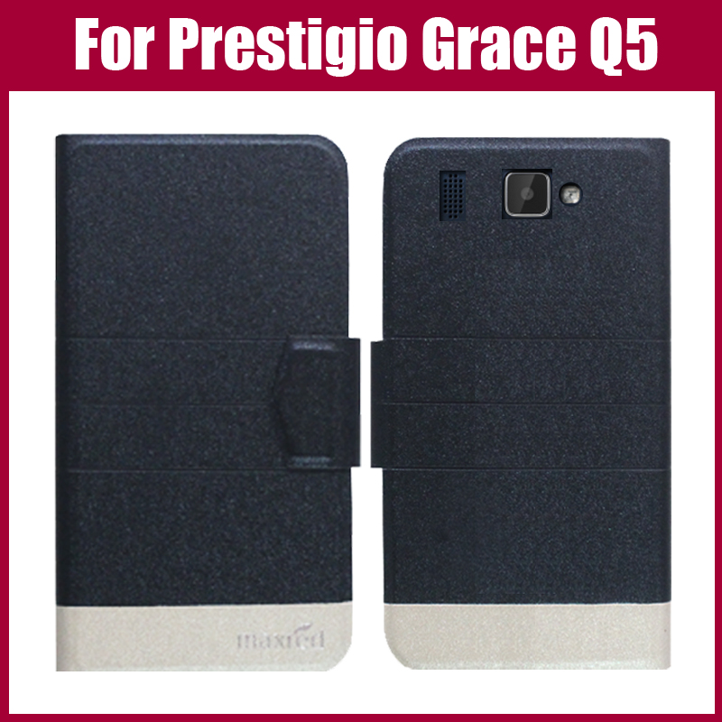 Prestigio Grace Q5 Case Neuankömmling 5 Farben Fashion Flip - Handy-Zubehör und Ersatzteile