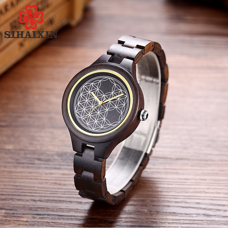 hot-sale-black-wood-small-watches-for-women-clock-lady-2