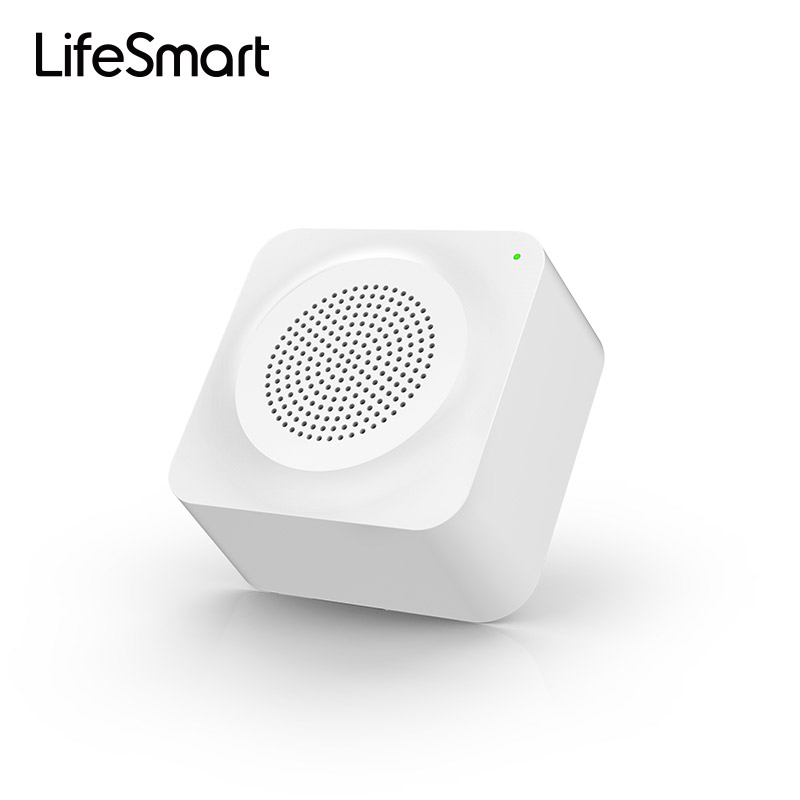 LifeSmart Multi - Function Gateway Smart Home Smart Security Alarm WiFi Wireless Remote Controller by Smartphone Android/iOS comfast full gigabit core gateway ac gateway controller mt7621 wifi project manager with 4 1000mbps wan lan port 880mhz cf ac200