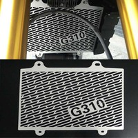 Black Motorcycle Accessories Radiator Guard Protector Grille Grill Cover For BMW G310R G 310 R G310GS G 310 GS 2017 2018