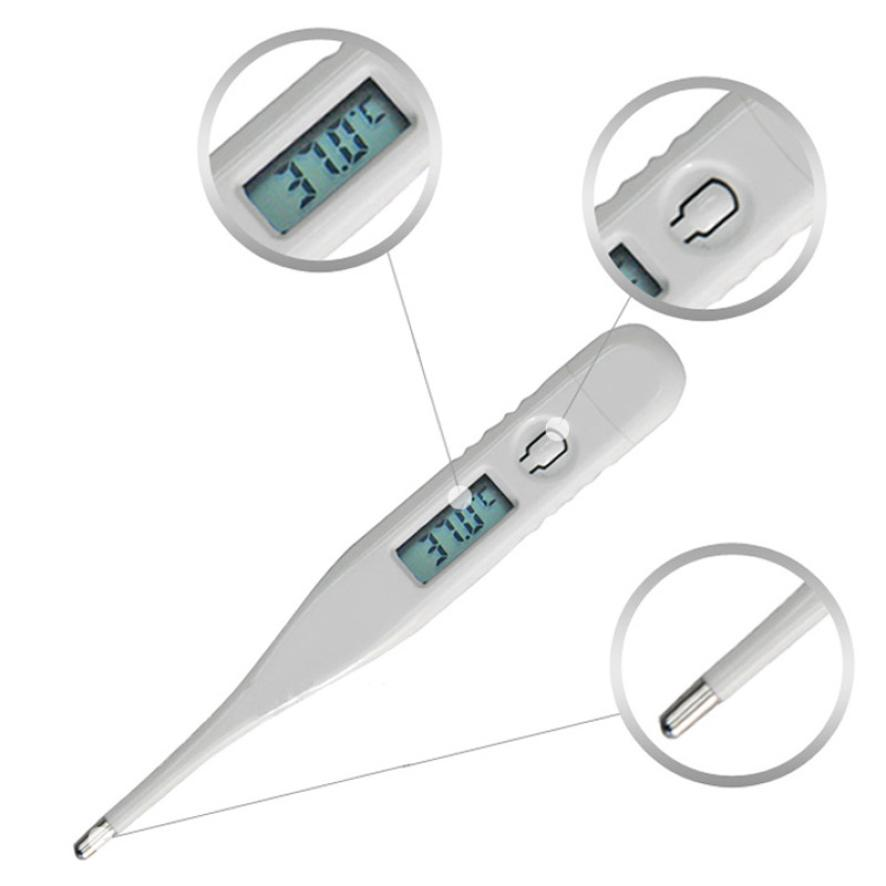Funny  Child Adult Body Digital Lcd Thermometer Temperature Measurement Ussp Ja18