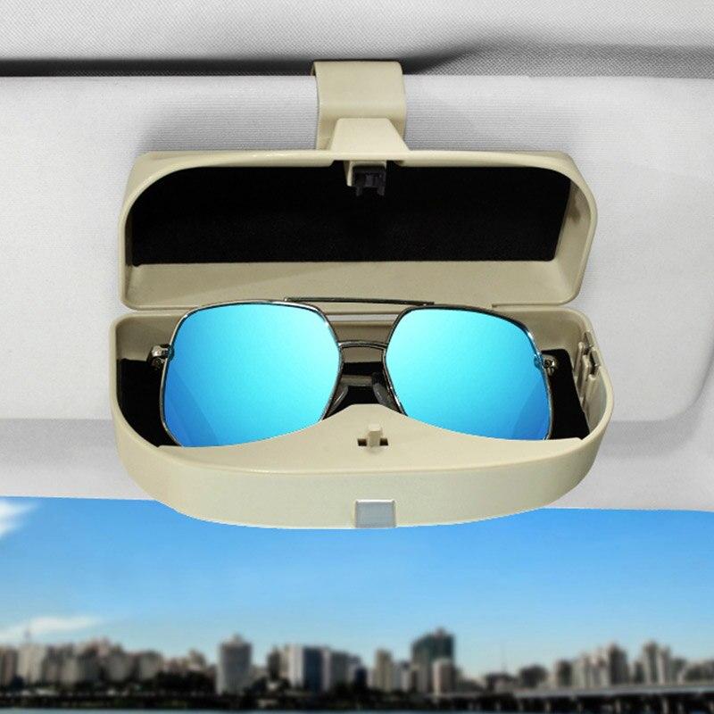 Auto Gläser Fall Sonnenbrillen Schutz Box Halter Für BMW X1 X2 X3 X4 X5 X6 F10 F20 F15 F16 F25 f26 F30 F32 F34 F45 F48 G11 G30