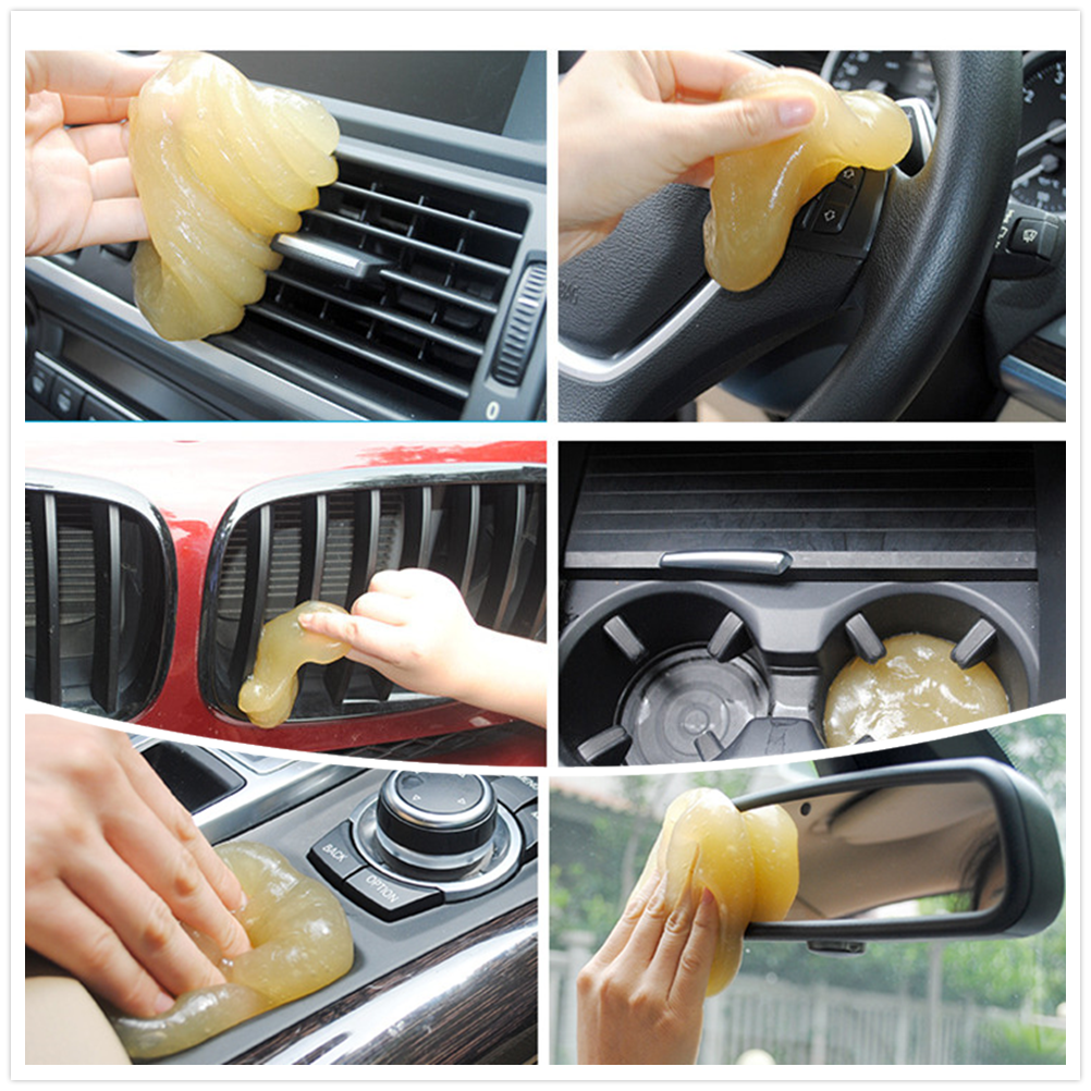 Cleaning Glue Car Clean Gum Gel Air Conditioner Outlet Dust Dirt Cleaner For Kia Forte Ceed Stonic Stinger Rio Picanto Niro In Interior Mouldings From
