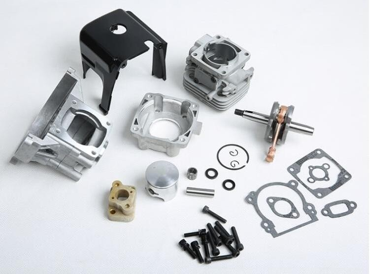 High power Engine parts,32cc upgrade cylinde kit,4 bolt head 32cc Engine kit fit 1:5 hpi km rv baja 5b 32CC Engine parts
