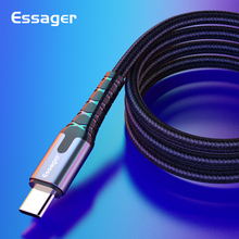 Essager USB Type C To USB-C Cable for Samsung S10 9 Oneplus 7 Pro Xiaomi Redmi K20 CC9 9 Fast Charge Charging Cable USB-C Type C