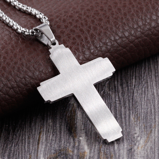 Online shop best selling ethiopian coptic cross pendant in best selling ethiopian coptic cross pendant in stainless steel christian religious jewelry plain cross pendant with bible quote aloadofball Image collections