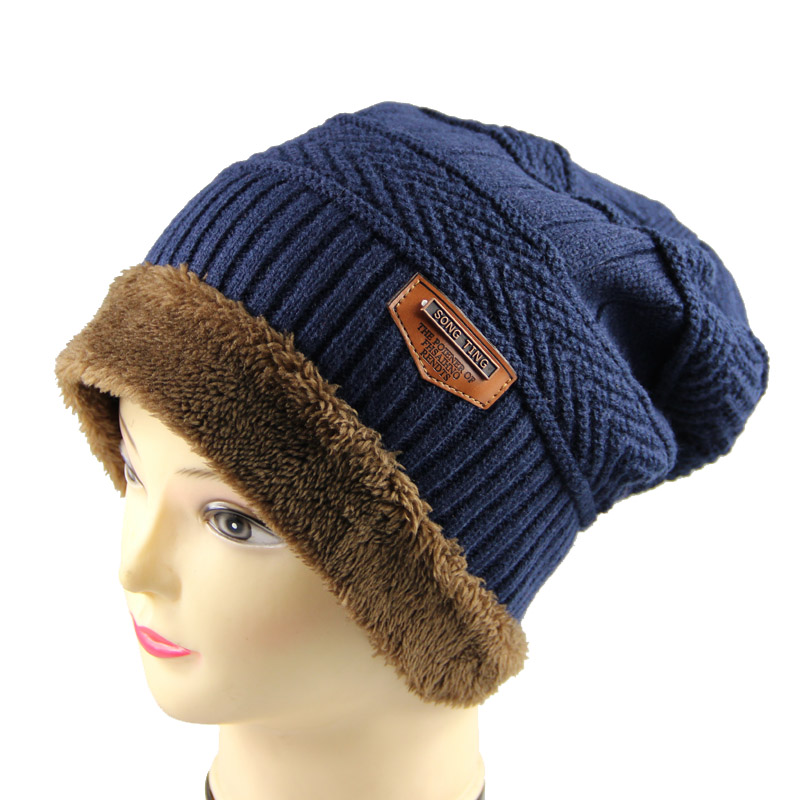 2016 Brand Beanies Knit Winter Hats For Men Women Beanie Men's Winter Hat Caps Bonnet  Warm Baggy Cap M-126