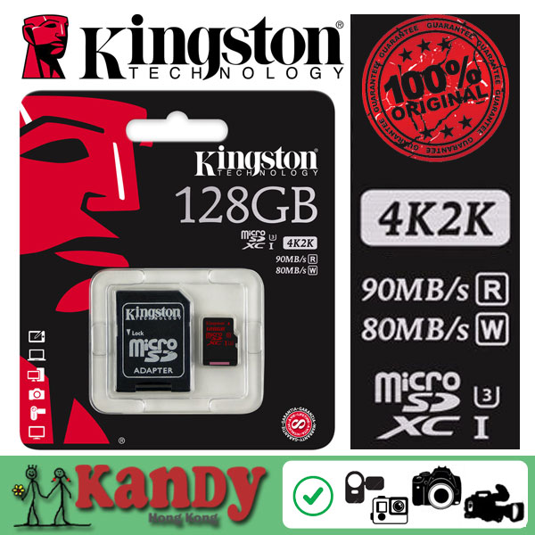 Kingston micro sd card memory card 32gb 64gb class 3 UHS-I U3 microsd 2K 4K video DSLR DSLM cartao de memoria tarjeta micro sd