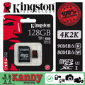 Kingston tarjeta sd micro tarjeta de memoria de 32 gb 64 gb class 3 uhs-i u3 microsd 2 k 4 k de vídeo dslr dslm cartao tarjeta de memoria sd micro
