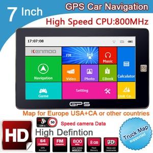 New 7 inch HD Car GPS Navigati