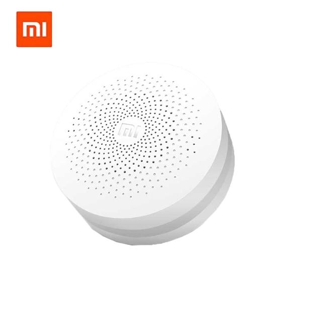 Xiaomi multifunções gateway wi-fi de casa inteligente branco original novo