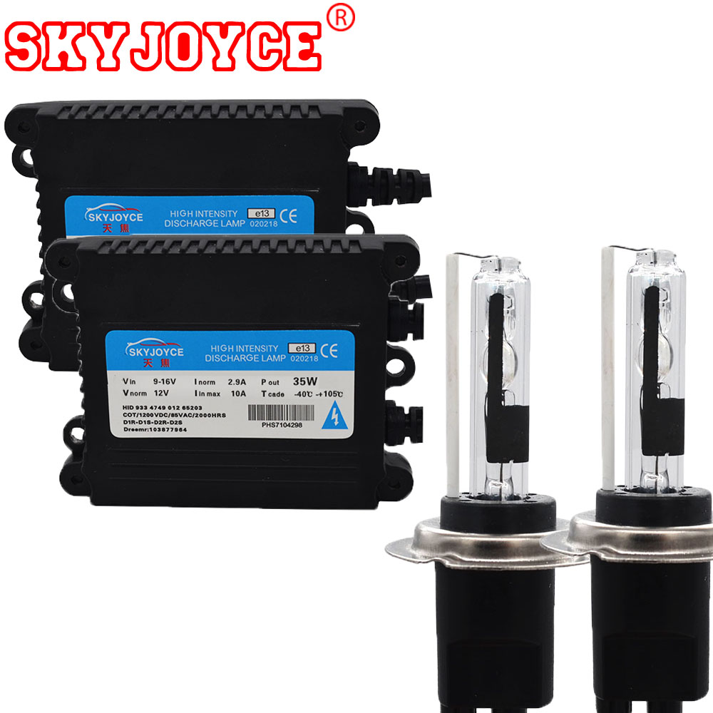 SKYJOYCE AC 35W H7CR hid kit xenon hid H7RC 5000K 8000K 6000K 4300K H7C R kit
