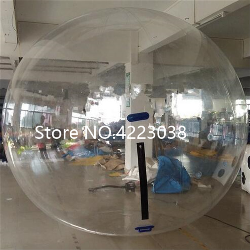 Free Shipping TPU 1.0mm 2.0m Inflatable Human Hamster Ball Water Walking Ball Inflatable Water Zorb Ball Giant Inflatables