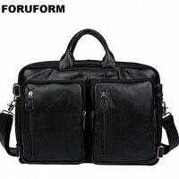 Multi Function Full Grain Genuine Leather Travel Bag Men's Leather Luggage Travel Bag Duffle Bag Large Tote Weekend Bag LI 1524