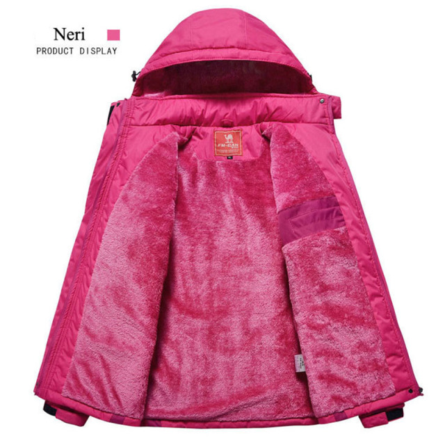 Women & Men Thermal Warmth Waterproof Rain Snow Etc. Coat Outdoor Active Wear