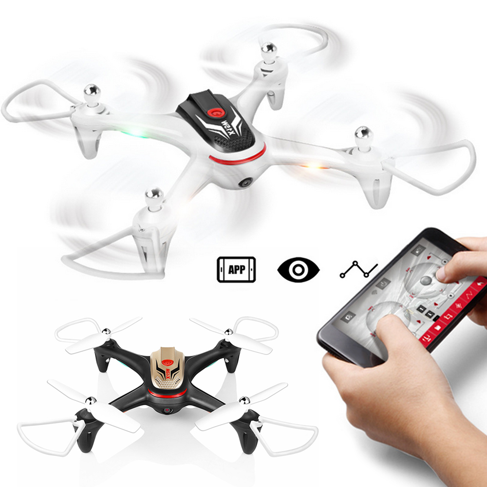X15W 0.3MP Durable Drone Quadcopter Altitude Hold LED Lighting 2.4GHz 4CH 360 Degree Rolling Flying One Key Landing High SYMA