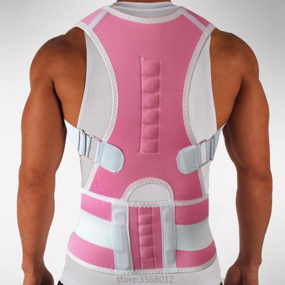 Magnetic Posture Corrector Back Shoulder Clavicle Lumbar Waist Spine Brace Support Belt Shaper Prevent Slouching Humpback Corset