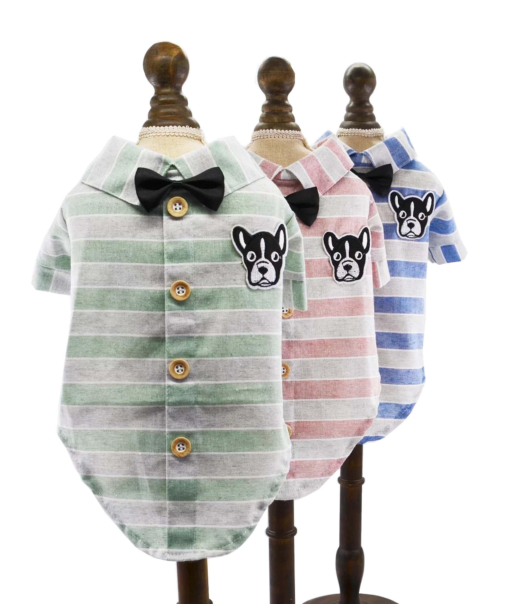 Spomladanska poletna oblačila za hišne ljubljenčke za majhne - Izdelki za hišne ljubljenčke