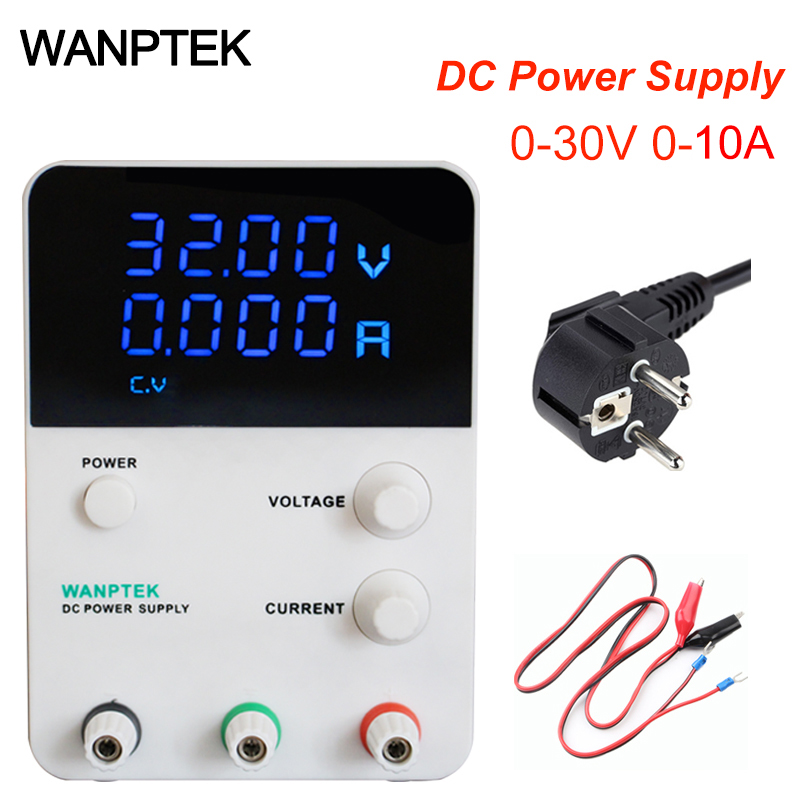 laboratory power supply 30V 10A Single phase SMPS adjustable Digital voltage regulator 0.01V 0.001A DC power supply Power device sw3010d mini digital dc regulator adjustable power supplier 30v 10a 110v 220v voltage switching power supply digital power