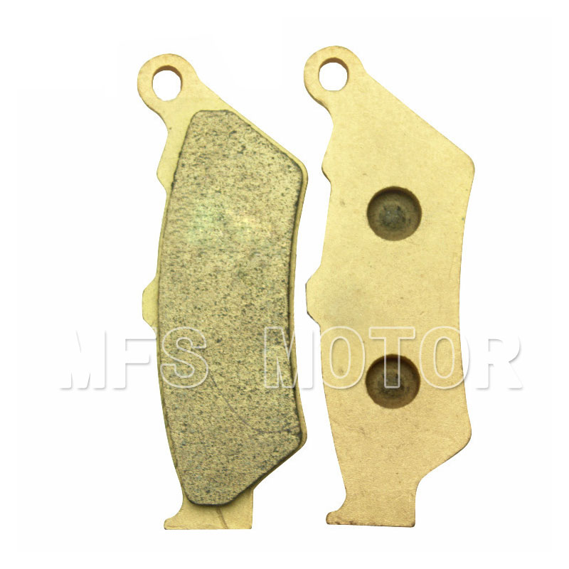 Motorcycle Part Sintered Front Brake Pads For Yamaha  DT125X 2005 2006 XT660R 2004 2005 2006 2007 2008 2009 new front brake caliper with pads fits for yamaha utv rhino 450 2006 2009 2008 660 2004 2005 2006 2007 new